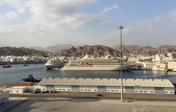 Der Hafen von Muscat