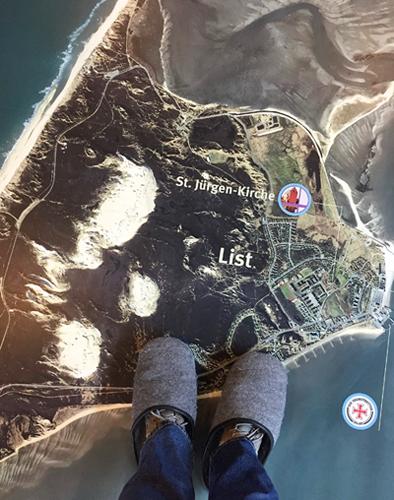 Satelittenbild von List