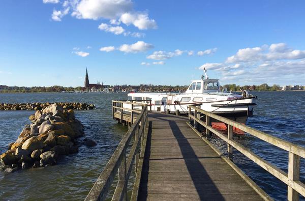 Blick auf Schleswig