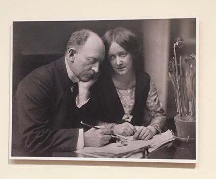 Emil Nolde und seine Frau Ada