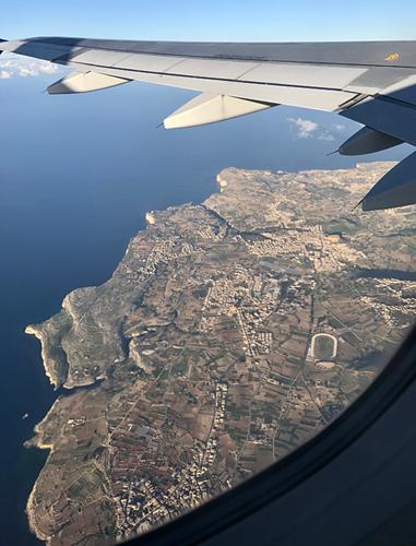 Gozo von oben