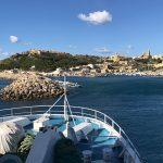 Einfahrt in den Hafen von Gozo