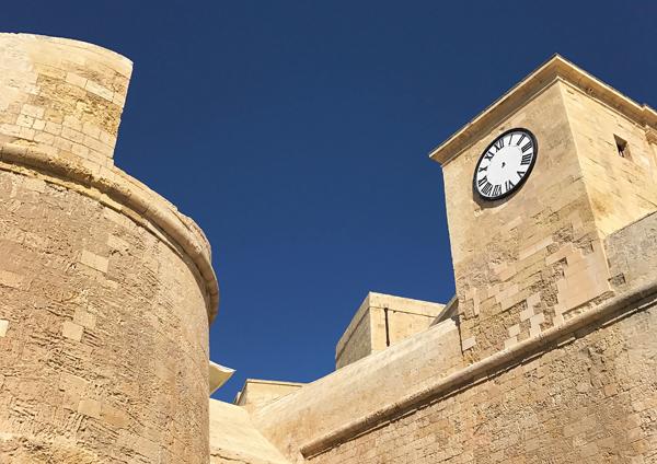 Die Zitadelle auf Gozo