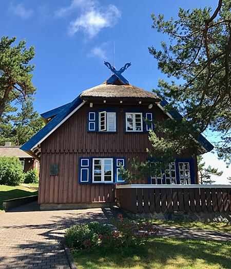 Thomas Mann Haus Nida