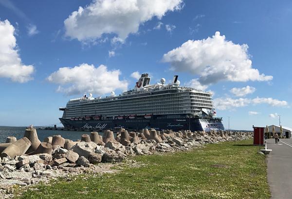 Im Hafen von Tallinn