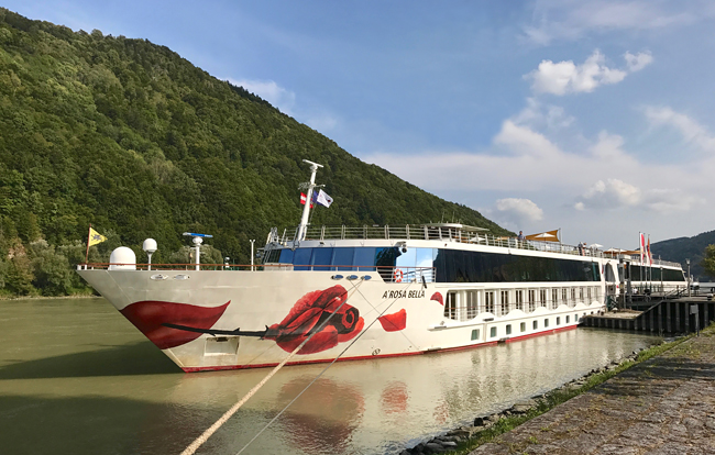 Flusskreuzfahrt auf der Donau mit der A-Rosa Bella