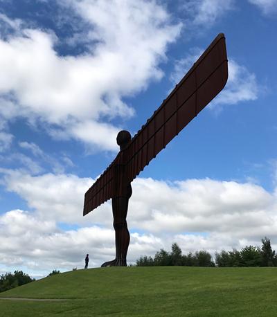"Skulptur ""Angel of the North"""