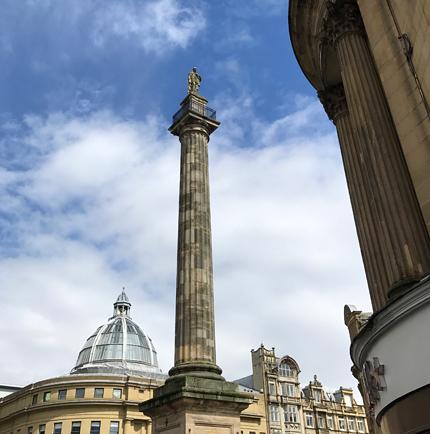 Earl Grey-Denkmal in Newcastle