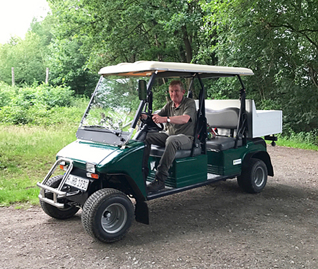 Brüggemann im Elektroauto
