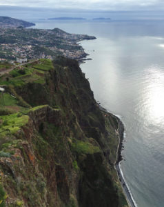 Ausblick am Cabo Girao
