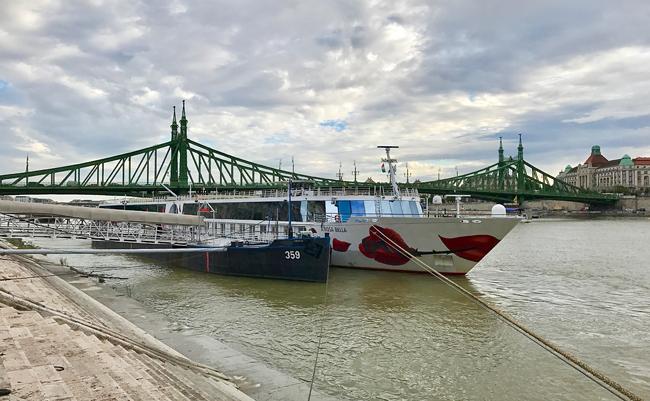 A-Rosa Bella in Budapest - Flusskreuzfahrt auf der Donau