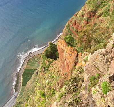 Felder am Cabo Girao
