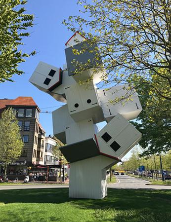 Stranhütten - Kunstwerk der Triennale Beaufort