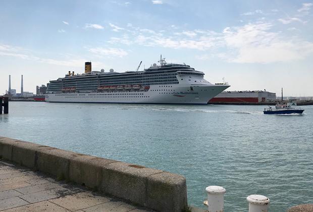 Costa Mediterranea in Le Havre