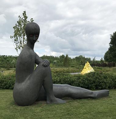 Skulpturen im Anningahof