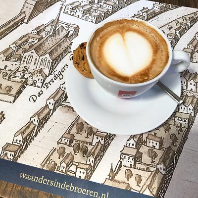 Cappuccino in der Bücherkirche