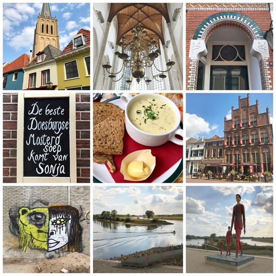 9 Bilder von der Hansestadt Doesburg