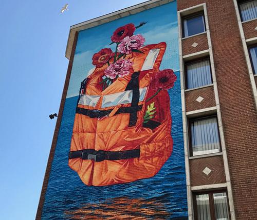 Streetart in Ostende