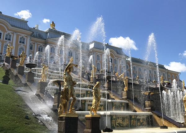 Kaskade Schloss Peterhof