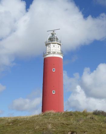 Leuchtturm von Texel - Watteninseln im Winter