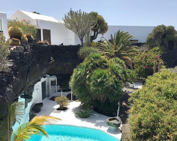 Das Wohnhaus von César Manrique
