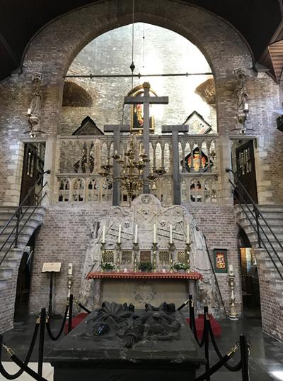 Im Inneren der Jerusalemkapelle
