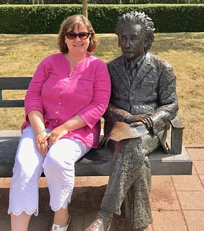 Einstein und ich in De Haan