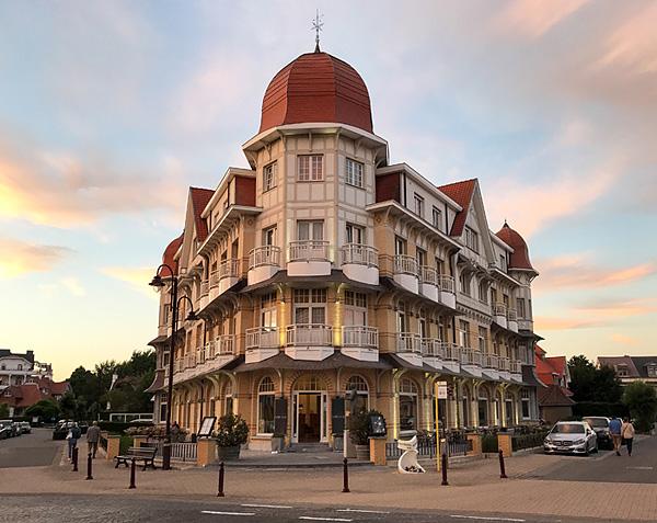 Das Hotel Belle Vue in De Haan