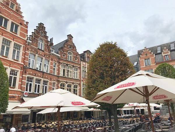 Der Oude Markt in Leuven