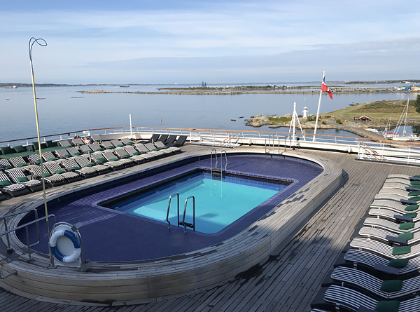 Pool auf der Vasco da Gama