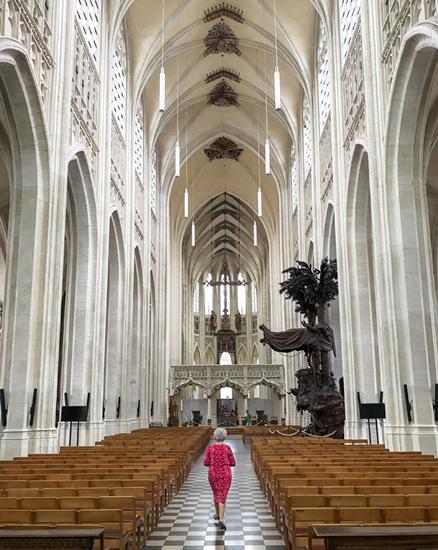 In der Sankt Peterskirche Leuven
