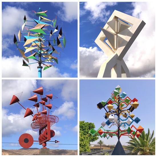 Windspiele von César Manrique auf Lanzarote