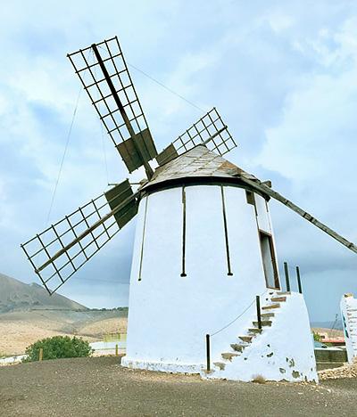 Getreide-Mühle auf Fuerteventura