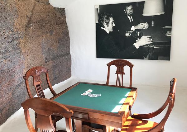 Spieltisch im Lagomar