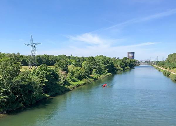 Der Zauberlehrling am Rhein-Herne-Kanal